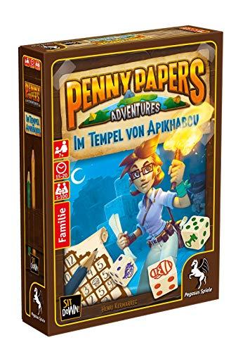 Pegasus Spiele 17650G - Penny Papers Adventures Im Tempel von Apikhabou