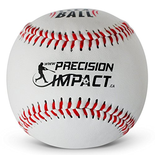 Precision Impact Flex-Ball: Low Impact Safety Tee Balls for Kids Indoor Baseball or Outdoor Baseball (3-Pack)