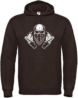 Hoodie Ultras Skull S bis 5XL