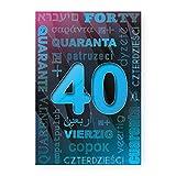 Biglietto auguri compleanno età (40)