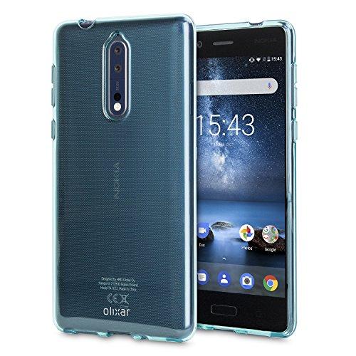 Olixar Nokia 8 Gel Case FlexiShield - Non Slip