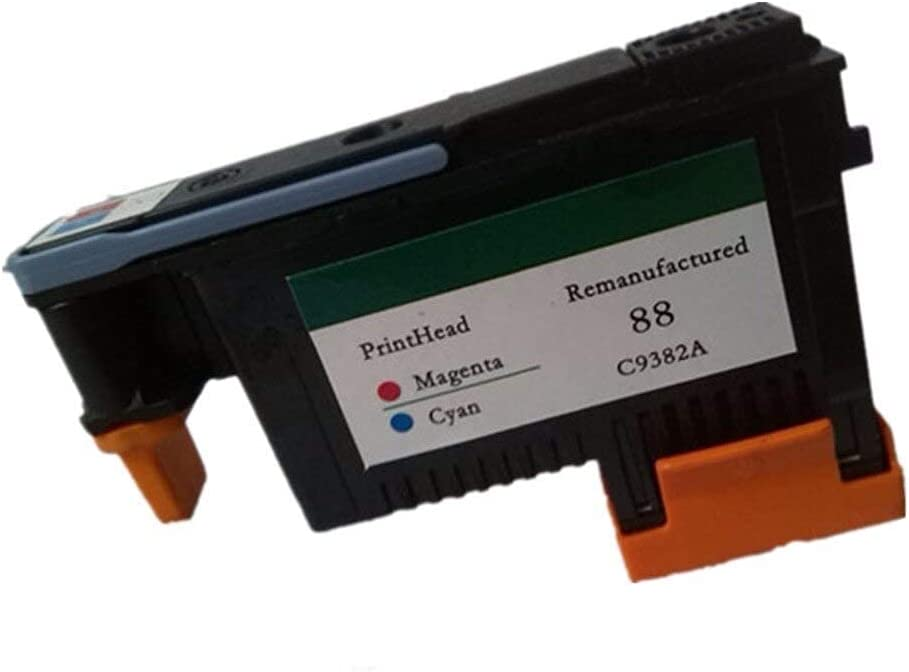 zzsbybgxfc Accessories for Printer PRTA38344 Printhead Print Head for 88 C9381A C9382A Officejet Pro L7400 L7480 L7500 L7550 L7580 L7588 L7600 L7650 L7680 L7681 L7700 - (Type: 1Pcs C9381A)