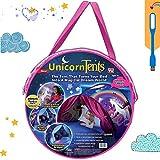 NiLeFo Tienda de campaña para niños PlayTentsPop Up BedtenCastles Regalo de cumpleaños Ropa de...