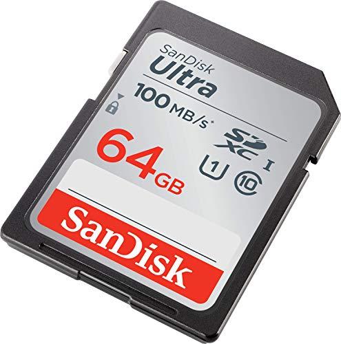 SanDisk 32GB Ultra SDHC UHS-I Memory Card – 90MB/s, C10, U1, Full HD, SD Card...
