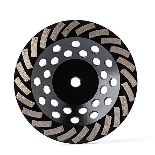 Diamond Grinding Wheel Cup Wheel Diamond Disc Grinder for Concrete and Paint Epoxy Mastic Coating Removal 7 inch 5/8-11 inch bore