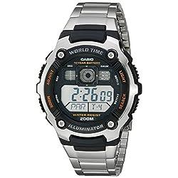 Casio Men's AE2000WD-1AV Resin and Stainless Steel Sport Watch