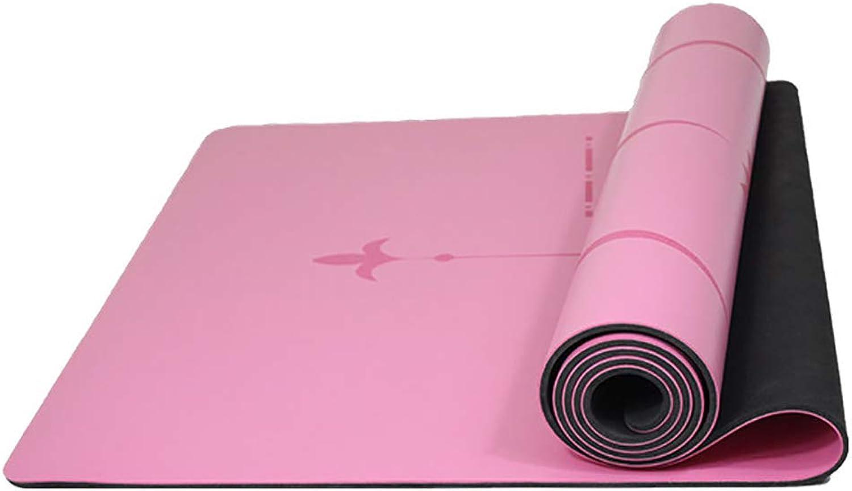 SIYUZ Yogamatten Sportmatten Tanzmatten Verbreiterte Verdickung Gleitschutz Leicht Zu Reinigen Langlebige Sicherheit Und Umweltschutz