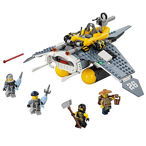 LEGO Ninjago Movie Manta Ray Bomber 70609 Building Kit (341 Teile)