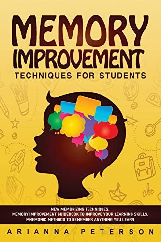 Memory Improvement Techniques for Students New Memorizing Techniques Memory Improvement Guidebook product image