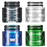 4 Pieces 810 Resin Drip Tip Replacement Resin Drip Tip Connector Standard Resin Drip Tip for RO System Refrigerator Ice Maker Coffee Mod Machine (Black, White, Green, Dark Blue)