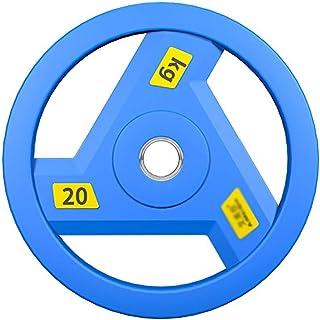 Kiki 2pcs Peso Piastre Dischi Dumbbell Peso Dischi Dischi bilanciere for Il Peso di Formazione Iniziale Palestra Peso Piastra Pesi Dimensione : 2.5kg 1.25kg*2