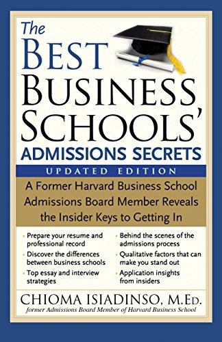 The Best Business Schools' Admissions Secrets, 2E