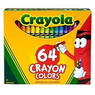 Crayola Crayons, Crayon Box with Sharpener, 64 ct (B00004YO15) | Amazon price tracker / tracking, Amazon price history charts, Amazon price watches, Amazon price drop alerts