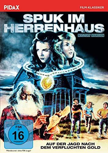 Spuk im Herrenhaus (Mystery Mansion) / Gruseliger Fantasyhorror mit zwei deutschen Synchronfassungen (Pidax Film-Klassiker)