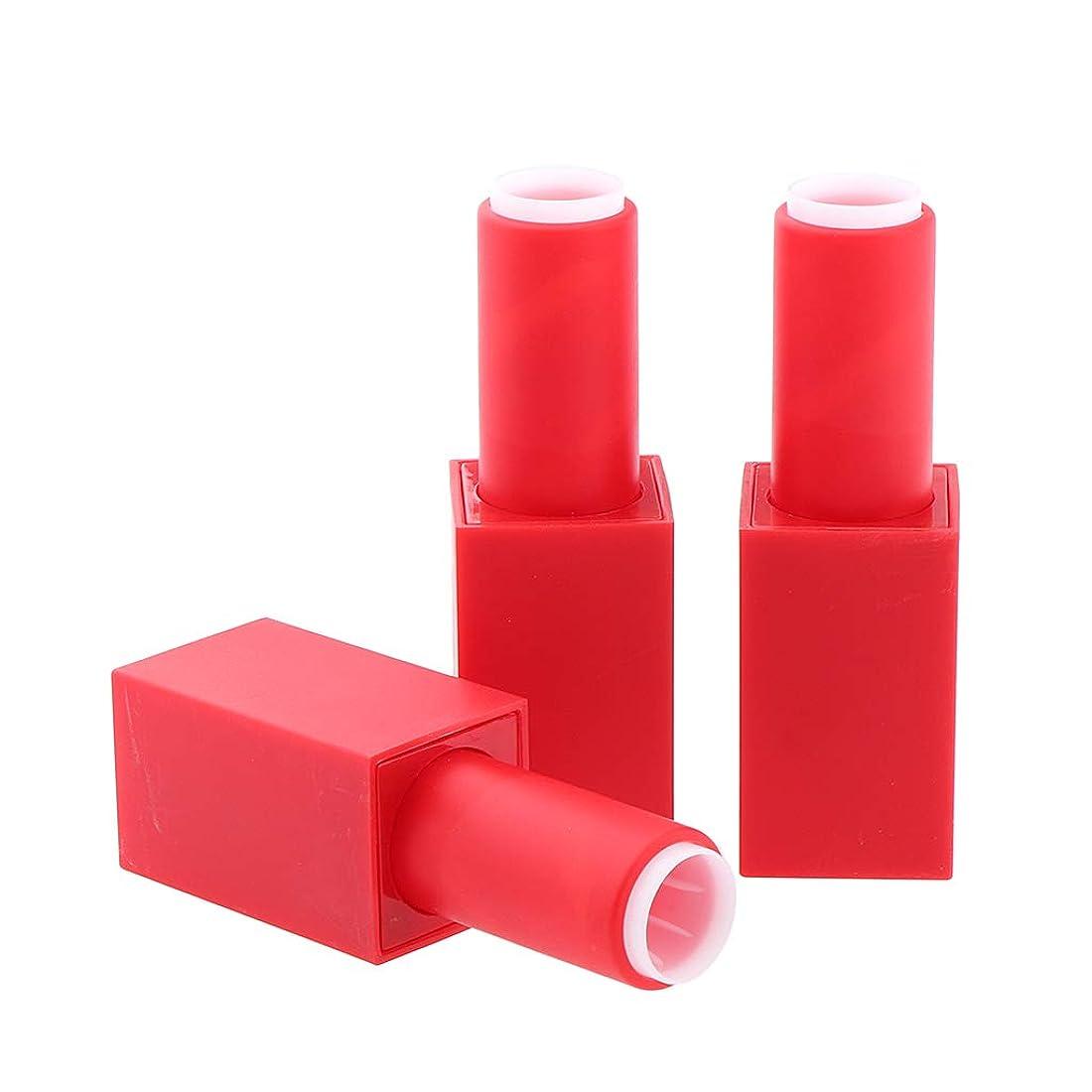 知り合いレイアウトパウダー空の口紅の管 3ピース 口紅ボトル 12.1 mm口紅モデル