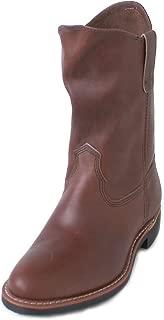 Womens Pecos 3468 Amber Leather Boots 8 B US, 5.5 UK