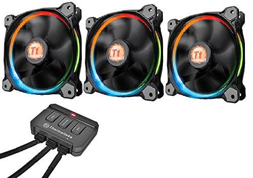 Thermaltake Riing 12 LED RGB 3er Set Gehäuselüfter