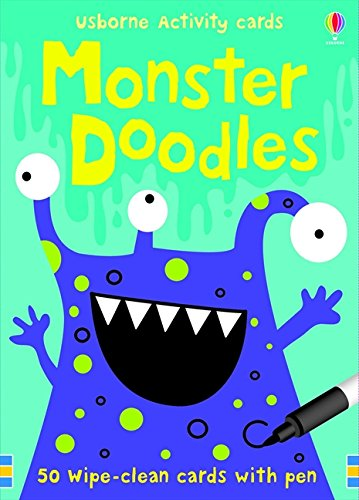 Monster Doodles Activity and Puzzle Cards