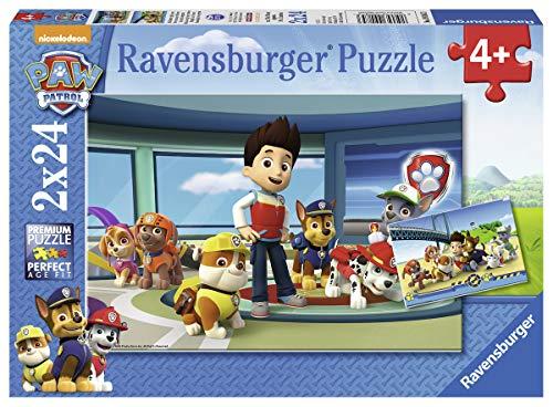 Ravensburger - Puzzle 2 x 24, Paw Patrol B (09085