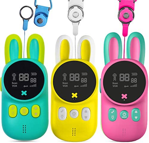 TEEMEE Walkie Talkies for Kids 22 Channels 2 Way Radio Walkie Talkies with Flashlight Cute Kid product image