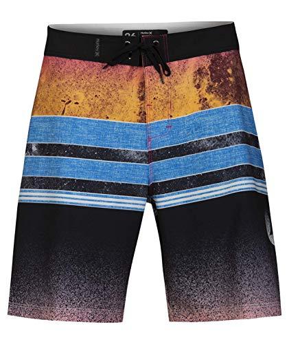 Hurley Boys B Phtm Pavones 16' Board Shorts, Hyper Pink, 24