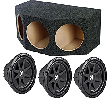 ASC Package Triple Rearfire Car Subwoofer Enclosure