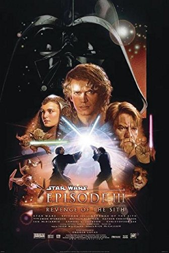 Close Up Star Wars Episode III Poster Revenge of The Sith (68,5 cm x 101,5 cm)
