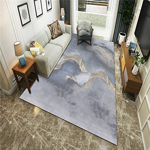 Microfiber Modern Retro Rug Soft Nursery Big Mat Indoor Carpet For Kids Play Room Bedroom Carpet Living Room Carpet Decor 160X200CM