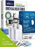 Siemens - Juego de filtros de agua y pastillas descalcificadoras para cafeteras automáticas 2x Wasserfilter +...