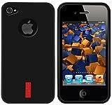 mumbi Schutzhülle für iPhone 4 / 4s - hochwertiges Silikon-TPU-Material, optimaler Schutz vor Kratzern und Schmutz