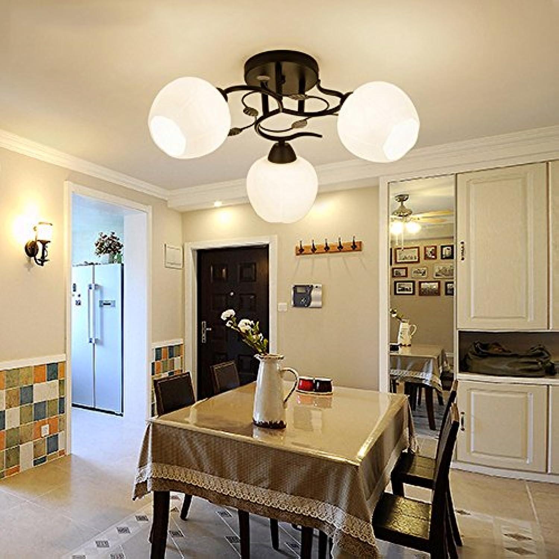 Joeyhome Moderne LED Deckenleuchten lamparas led de techo moderna Für Küche Wohnzimmer leuchte plafonnier Deckenleuchte, 3 Lichter