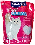 Vitakraft Magic Clean 15526 Arena para Gatos, duración de 8 semanas, 8,4 L.