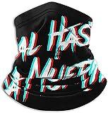 FDGRF Real Hasta La Muerte Unisex Fashion Face Bandanas Head Band Wears Scarf Face Tube Neck Scarf