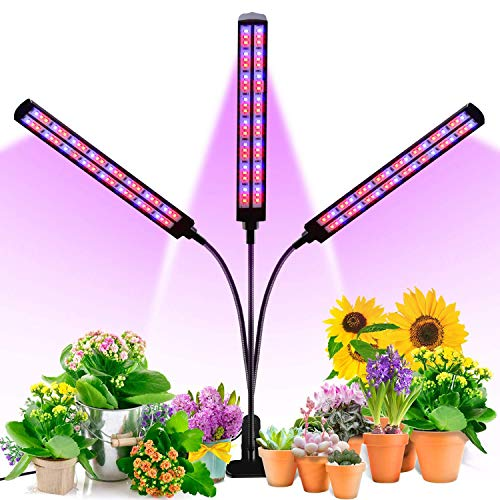 LED Plant Grow Light, TACAHE 144 Lamp Beads 70W...
