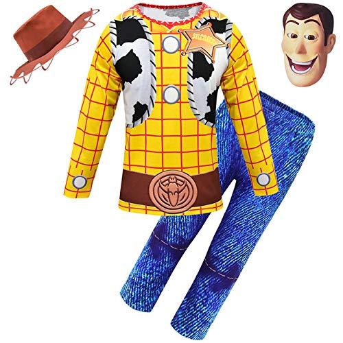 BCOGG 2019 Halloween Toy Story Niños Woody Disfraz Niño Wo