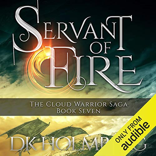 Servant of Fire audiobook cover art