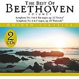 The Best of Beethoven Volume 1 Golden Classics 2 CD Set Symphony No. 3, No. 6