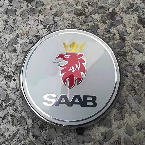 FTC 1 Stück für Saab 9-3 98-02 3dr/5dr Heckabzeichen 5289889 (2 Stifte) (Weiß)