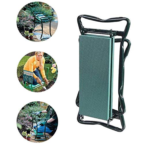 Baoniansoo Garden Kneeling stools, EVA Foam Cushions, Foldable stools, Clothes from Dirt and Grass Stains, Protect Your Knees, Suitable for Gardens