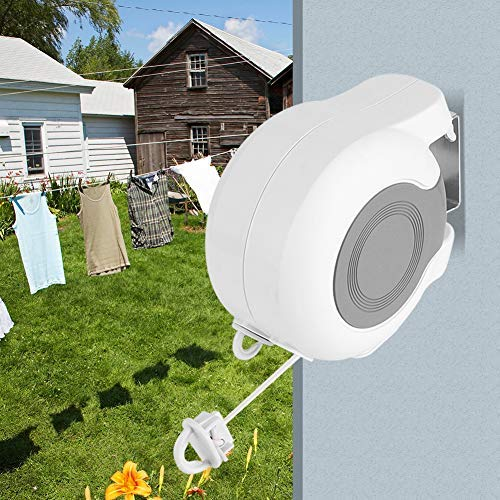 Bracon Clothesline - 13m Retractable Double Clothes Drying...