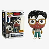 Funko Pop Television : Stranger Things – Steve (Exclusive) 3.75inch Vinyl Gift for Horror TV Fans Su...