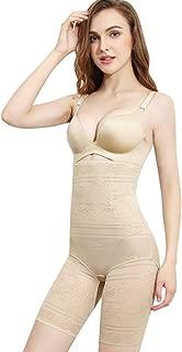 2 Pack Womens Underwear Shapewear Waist Butt Shaper Hi-Waist Panty Tummy Control Knickers Waist Trainer Body Shaper Slimming Briefs,Flesh,M
