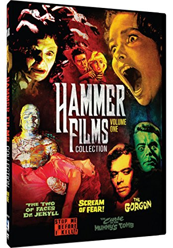 HAMMER FILM COLLECTION 1: 5 MOVIE PACK - HAMMER FILM COLLECTION 1: 5 MOVIE PACK (2 DVD)