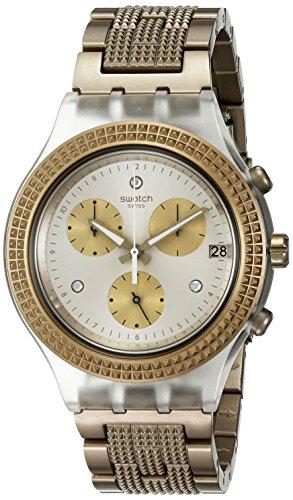Swatch SVCK4079AG Armbanduhr aus Aluminium