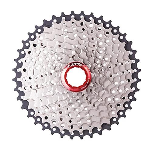 Perfeclan Rueda Libre de Bicicleta de Calidad Tornillo de Velocidad en el Volante 11-32T/40T/42T componente de reparación del piñón para Bicicleta de - 10 Velocidad 11-42T