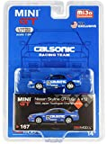 Nissan Skyline GT-R Gr. A (RHD) #12'Calsonic Japan Touring Car Champs. JTCC 1992 Ltd Ed 1200 pcs 1/64 Diecast Car by True Scale Miniatures MGT00167