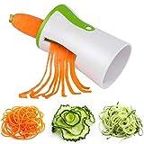 Espiralizadores de verduras, 4 en 1, cortador de verduras y calabacín, para cocinar, pasta de calabacín, espaguetis de calabacín, patatas dulces, zanahoria de pepino