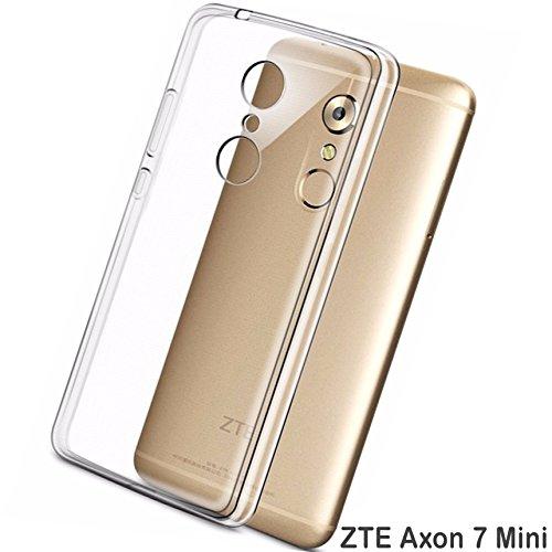 tomaxx Hülle für ZTE Axon 7 Mini Ultra Slim Schutzhülle Hülle Tasche Transparent Durchsichtig