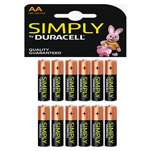 Duracell Simply AA Batterien (12Stück)