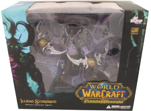 Action Figur WoW Deluxe Illidan Stormrage